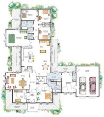 100 luxury home plans luxury modern courtyard house plan