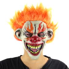 Halloween Clowns Props Compare Prices On Clown Scary Mask Online Shopping Buy Low Price