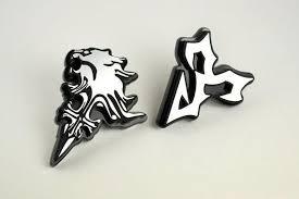 tidus earrings tidus jecht pendant tie tack pin badge bag pin