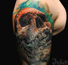 skull tattoos pictures page 13