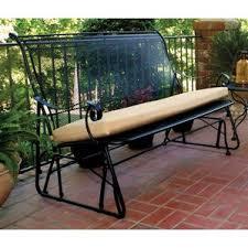 metal patio gliders you u0027ll love wayfair