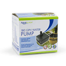Aquascape Pond Pumps Up To 500 Gph Pond U0026 Fountain Pumps Ebay