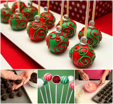 wonderful diy ornament cake pops cake pop