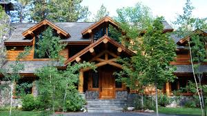 Luxury Log Home Plans Mountain Architects Hendricks Architecture Idaho Rustic Log Cabin