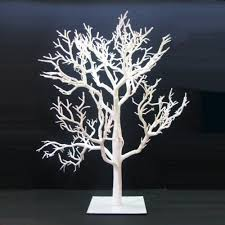 32 white artificial tabletop twig tree unlit this is