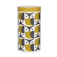 orla kiely owl canister kitchen storage kitchen storage