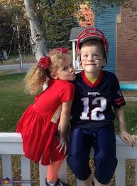 Halloween Costumes Football Player Boy Cheerleader Football Player Kids Halloween Costume