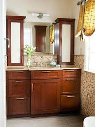 Brown Bathroom Cabinets by Cabinet Over Toilet For Small Bathroom Bathroom Decor
