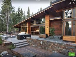 home exterior design material landscaping exposed steel beams roof lines variable exterior