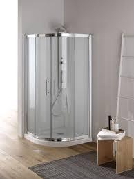 ferbox cabine doccia yumi box doccia circolare scorrevole finitura bianco 80 cm