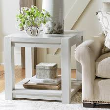 Side Table In Living Room Living Room End Tables Bassett Accent Tables