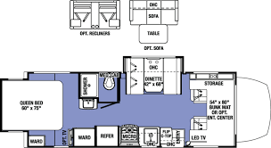 expandable rv floor plans forest river sunseeker mbs rvs for sale camping world rv sales