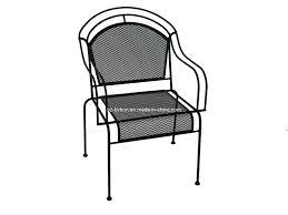 mesh wrought iron patio furniture china outdoor wrought iron mesh chair c 057 china wrought iron