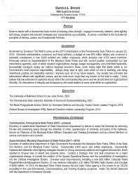 Sample Police Officer Resume by Police Officer Resume Cover Letter Sample Resume Cover Letter For