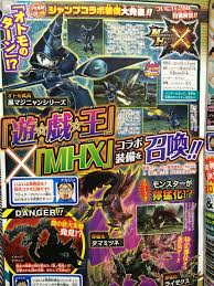 monster hunter x yu gi oh collaboration announced gematsu