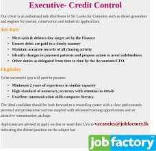 Credit Controller Resume Sample by Credit Control Cv Resume