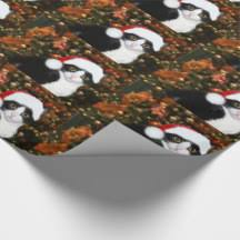 cat christmas wrapping paper black cat christmas wrapping paper zazzle
