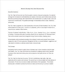 boutique business plan template u2013 10 free word excel pdf format