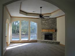 Oak Corner Fireplace by Interior Foxy Image Of Living Room Decoration Using Light Grey