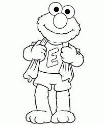 sesame street coloring pages kids coloring