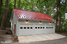 gambrel roof garage 24 u0027x24 u0027 two story garage with cape cod dormers metal roof