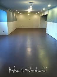 interesting basement floor paint ideas concrete basement floor