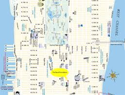 map of nyc streets map nyc major tourist attractions maps brilliant