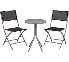 Argos Bistro Table Buy Kara 2 Seater Garden Bistro Set Black At Argos Co Uk Your