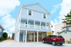 Beach House Plans On Piers Cherry Grove Beach Rentals Vacation Rentals Oceanfront