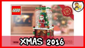 lego christmas ornament 2016 youtube