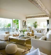 peinture cuir canapé salon moderne avec peinture couleur et canapé cuir blanc