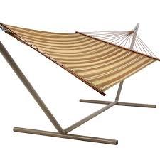 Padded Hammock Chair Castaway Hammocks Beau Green U0026 Brown Stripe Quilted Hammock Dfohome
