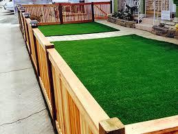 Turf For Backyard by Turf Grass Ballard California Backyard Deck Ideas Front Yard