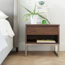 Floating End Table by Floating End Table Nightstand Solid Walnut Bedroom Bedside