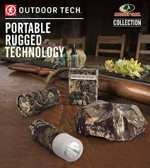 Outdoor Tech Outdoor Tech And Mossy Oak Collaboration Debut At Outdoor Retailer