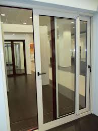 interior sliding aluminium doors with glass