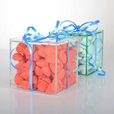 mini acrylic wedding gift favor box mini acrylic wedding gift