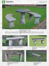 S Shaped Bench Garden S Shaped Stone Bench Buy Stone Bench Curved Stone Bench