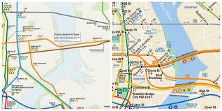 mta map subway map see the ideal mta subway system midtown york dnainfo