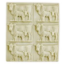 way cow and calf soap mold tray mw 79 wholesale