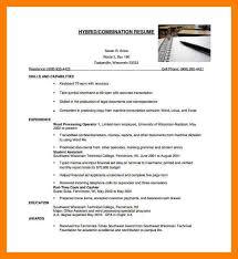 hybrid resume samples 9 hybrid resume example mla cover page