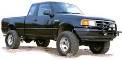 ford ranger max 83 97 ford ranger suspension lift kits