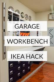 best place to buy garage cabinets garage workbench diy how we ikea hacked garage storage