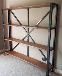 Industrial Shelving Unit by Cool Racks And Shelving From Steel And Timber