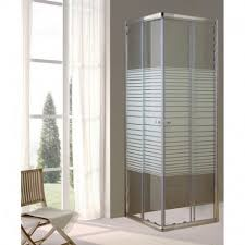 box doccia cristallo 80x80 box doccia bagno in cristallo trasparente e serigrafato 80x80 cm