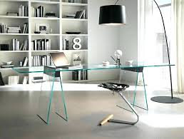 Home Office Glass Desk Office Glass Desks Home Office Glass Desk Furniture Contemporary