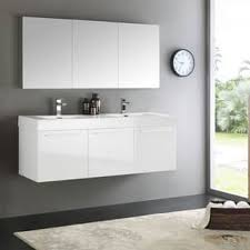 wall cabinet 51 60 inches bathroom vanities u0026 vanity cabinets for