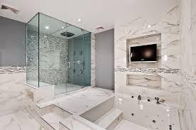 Marble Tile For Bathroom Nice Looking Marble Bathroom Tile Ideas Simple 98 For Home