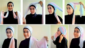 tutorial hijab pashmina kaos yang simple hijab tutorial pashmina hijab style 6