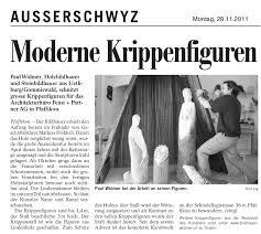 Medienberichte - Holzbildhauer und Steinbildhauer Paul Widmer ... - Paul+Widmer+Bildhauer